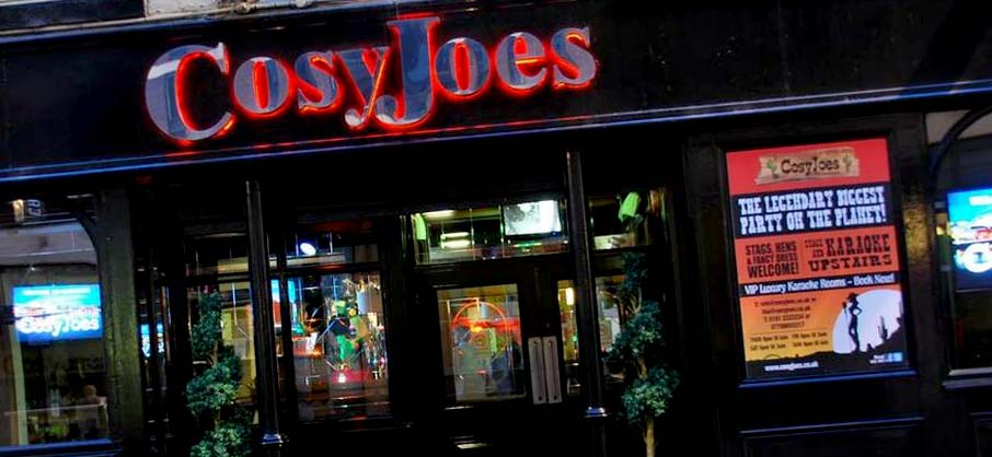 Cosy Joes, Newcastle